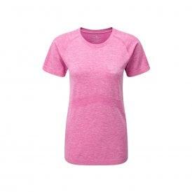 Ronhill Infinity Marathon Womens Breathable & Sweat Wicking Short Sleeved Running T-shirt