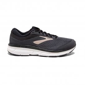 Brooks Dyad 10 Mens 4E EXTRA WIDE FIT Lightweight Cushioned Road Running Shoes Black/Gold