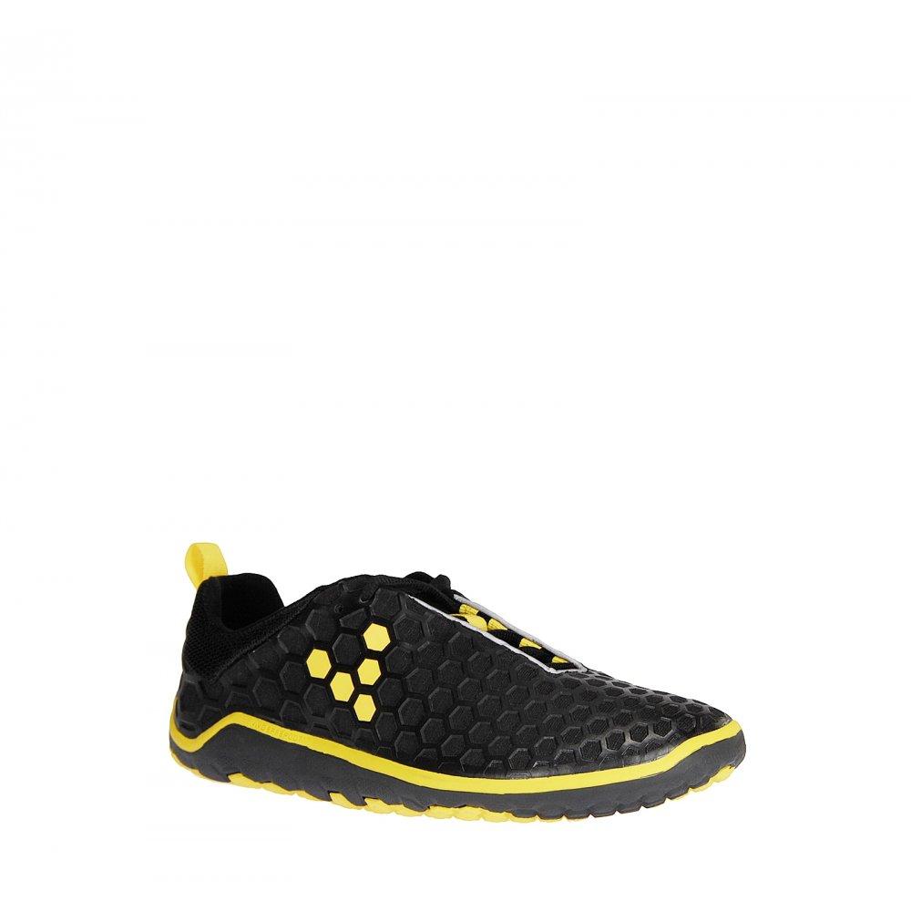 s evo ii minimalist road running shoes black yellow at