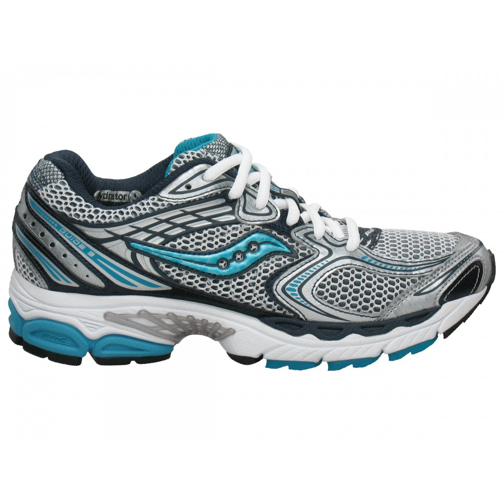 progrid guide 3 womens road running shoes white blue at