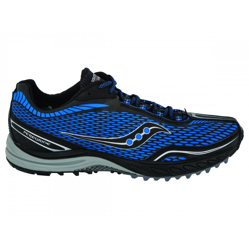 Home / Saucony Peregrine Trail Running Shoes Black/Blue