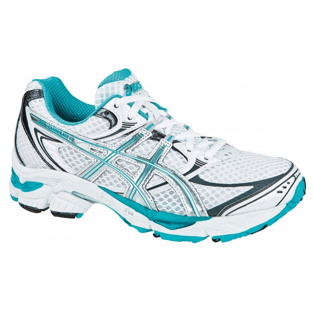 Asics Gel Cumulus 12 Road Running Shoes Women's White/Green