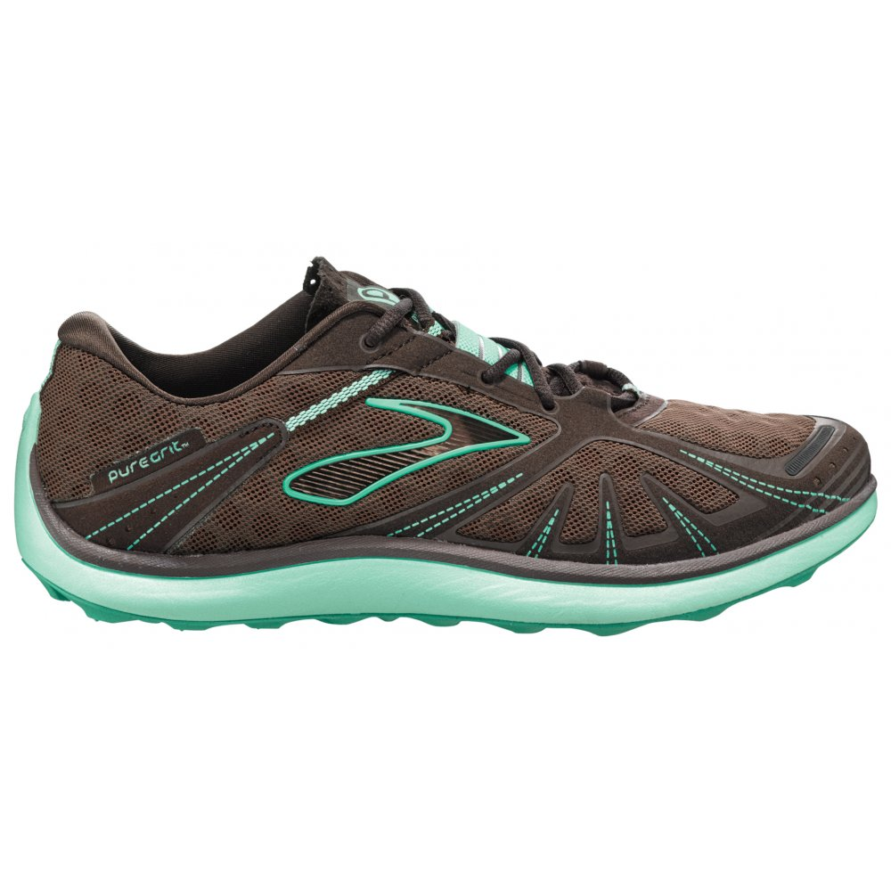 Details about Brooks Pure Grit Trail Minimalist Running Shoes Women's