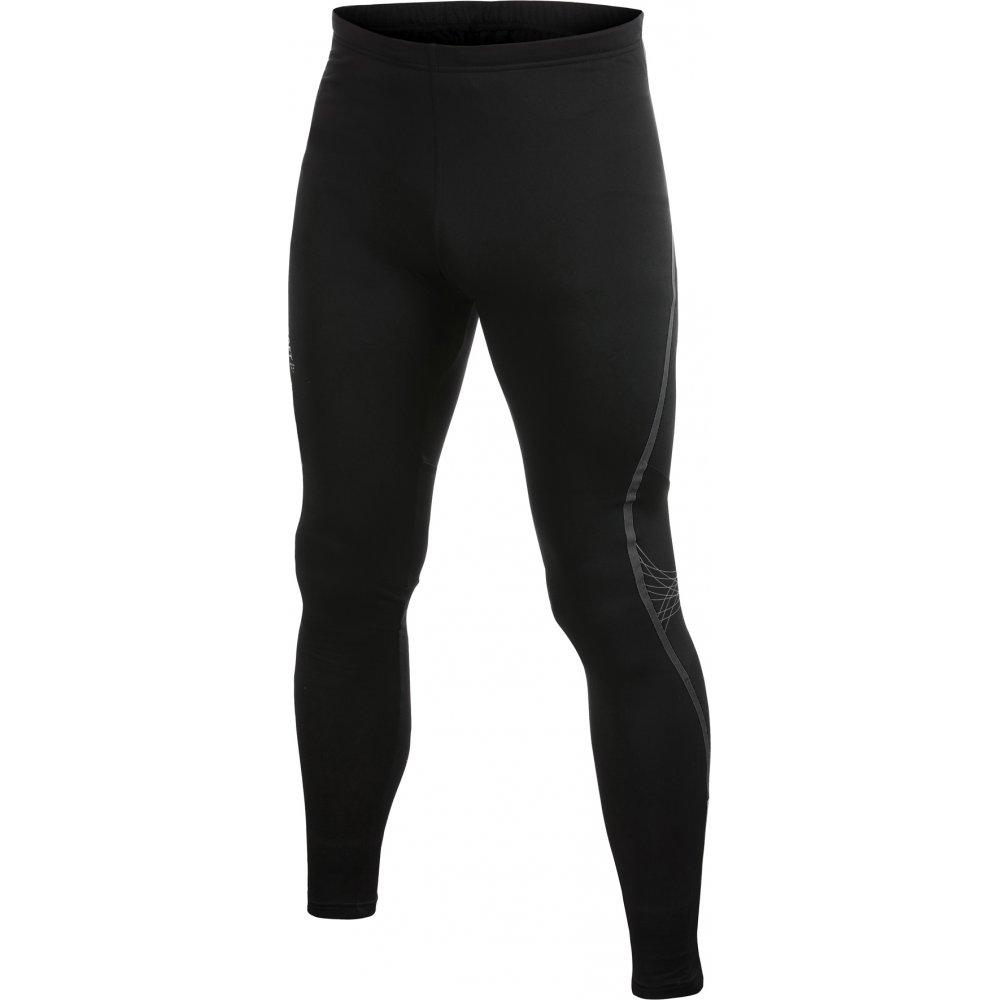 Performance Thermal Running Tights Mens Black At