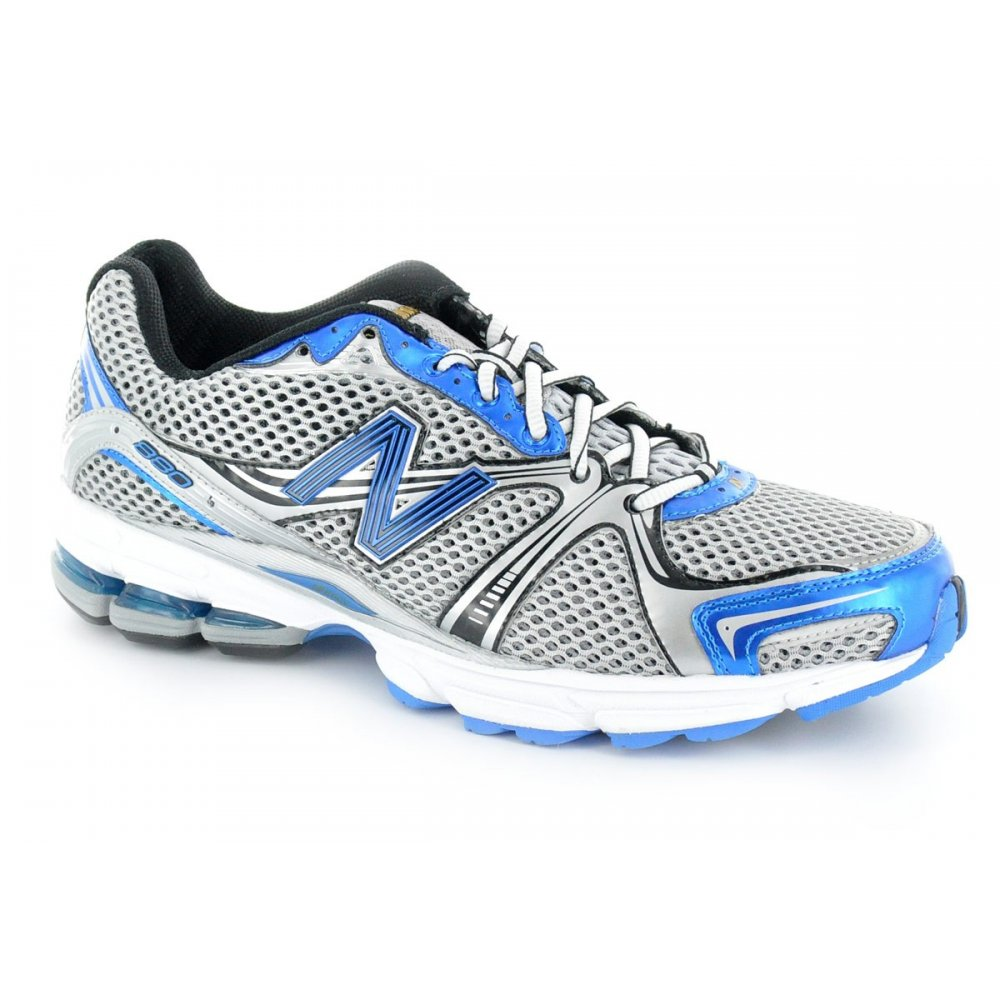 880 road running shoes blue silver d width standard