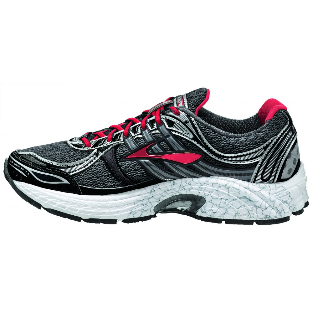 Trance 11 Road Running Shoes Shadow/Hibiscus/Black Women's