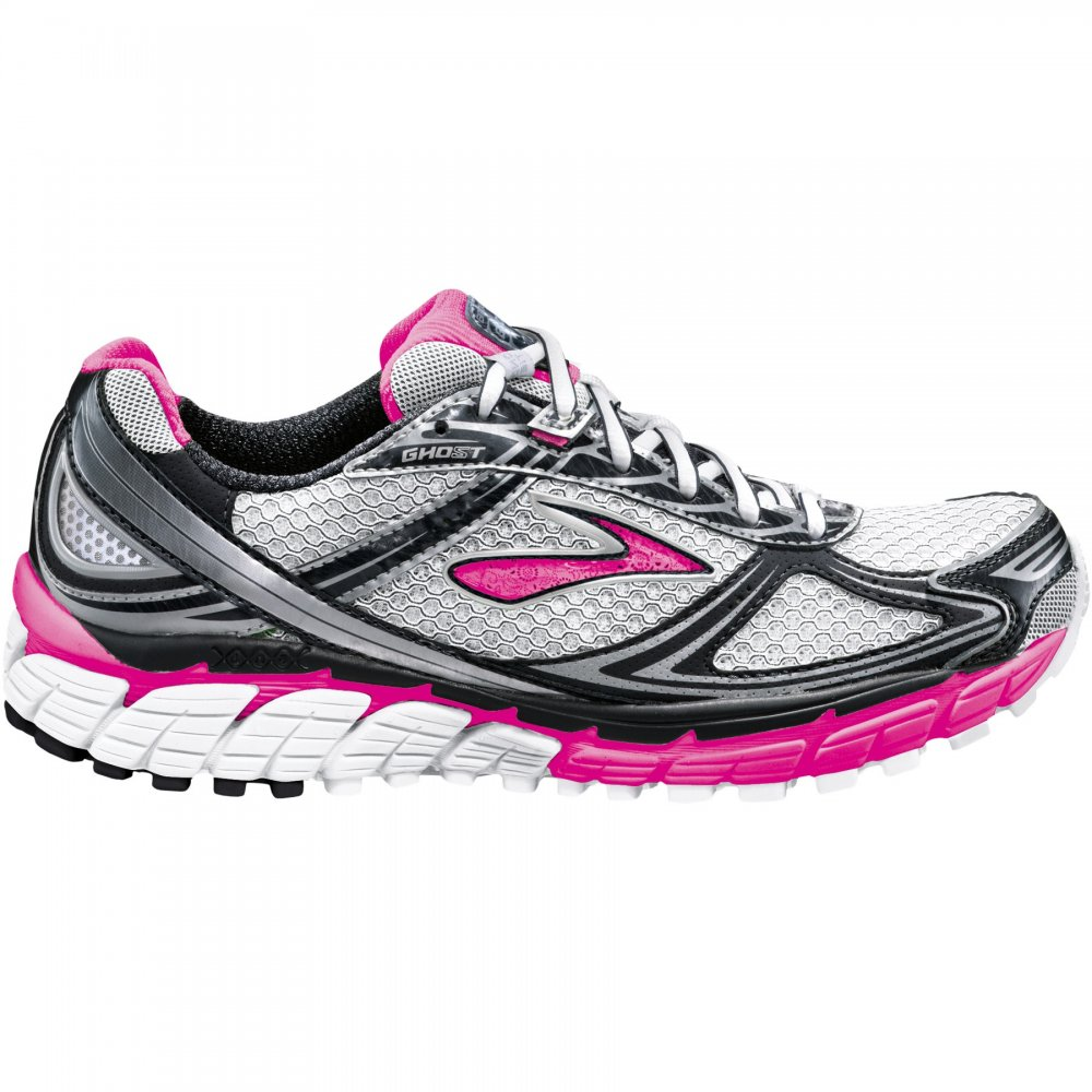 Brooks Ghost 5 Road Running Shoes PersianPink/Anthracite/White/Silver