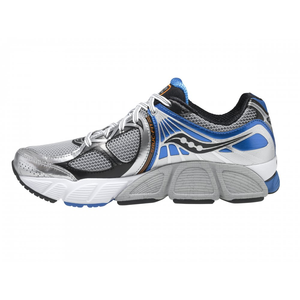 Stabil CS3 Running Shoes Silver/Black/Blue Mens at NorthernRunner.com