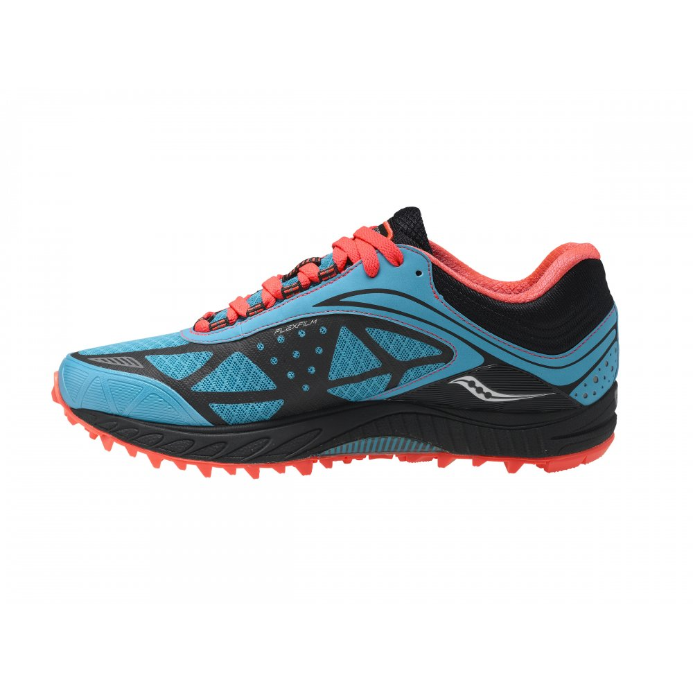 Peregrine 3 Minimalist Trail Running Shoes Teal Black