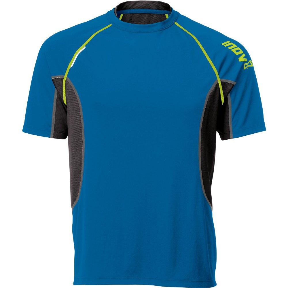base elite 140 short sleeve tee running t shirt blue mens at. Black Bedroom Furniture Sets. Home Design Ideas