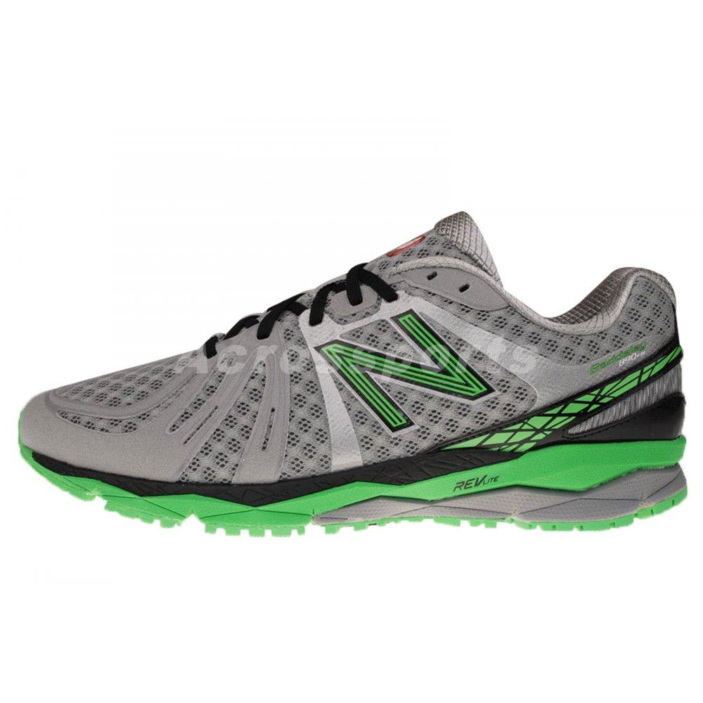 newest e3ff4 41f47 ... New Balance 890 V2 Road Running Shoes Grey Green (D WIDTH - STANDARD)