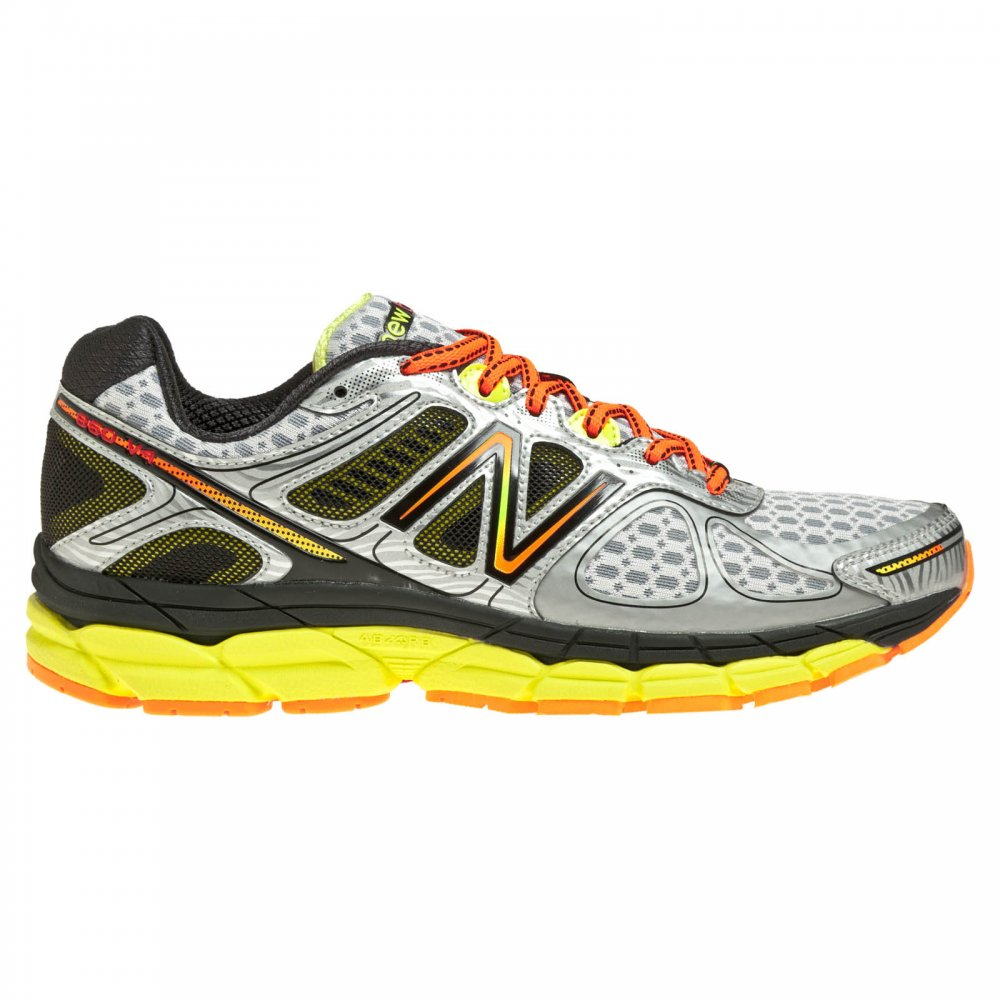 New Balance 860 V4 Road Running Shoes Silver/Green (D WIDTH - STANDARD)