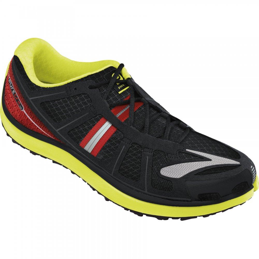 Brooks Pure Grit 2 Minimalist Trail Running Shoes Nightlife/Lava/Black