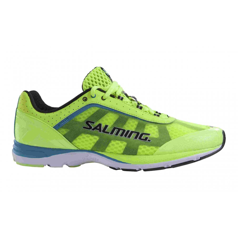 ... Midfoot Running Shoes / Salming Distance Road Running Shoe Yellow Mens