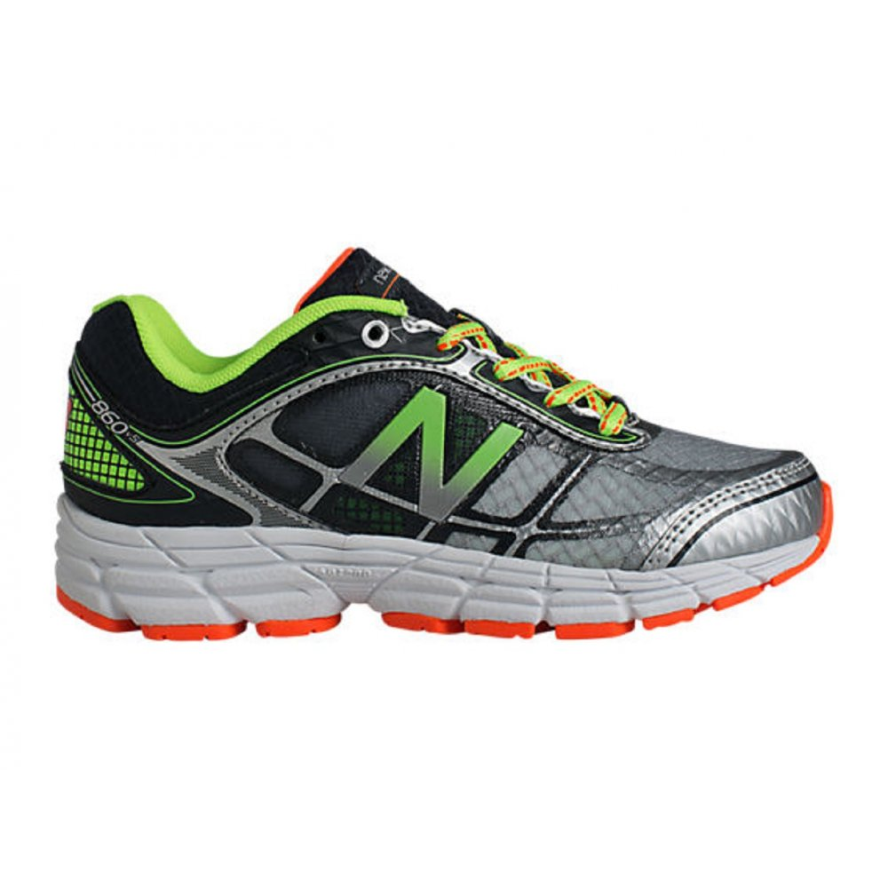 New Balance 860 V4 Kids Running Shoes Green/Silver