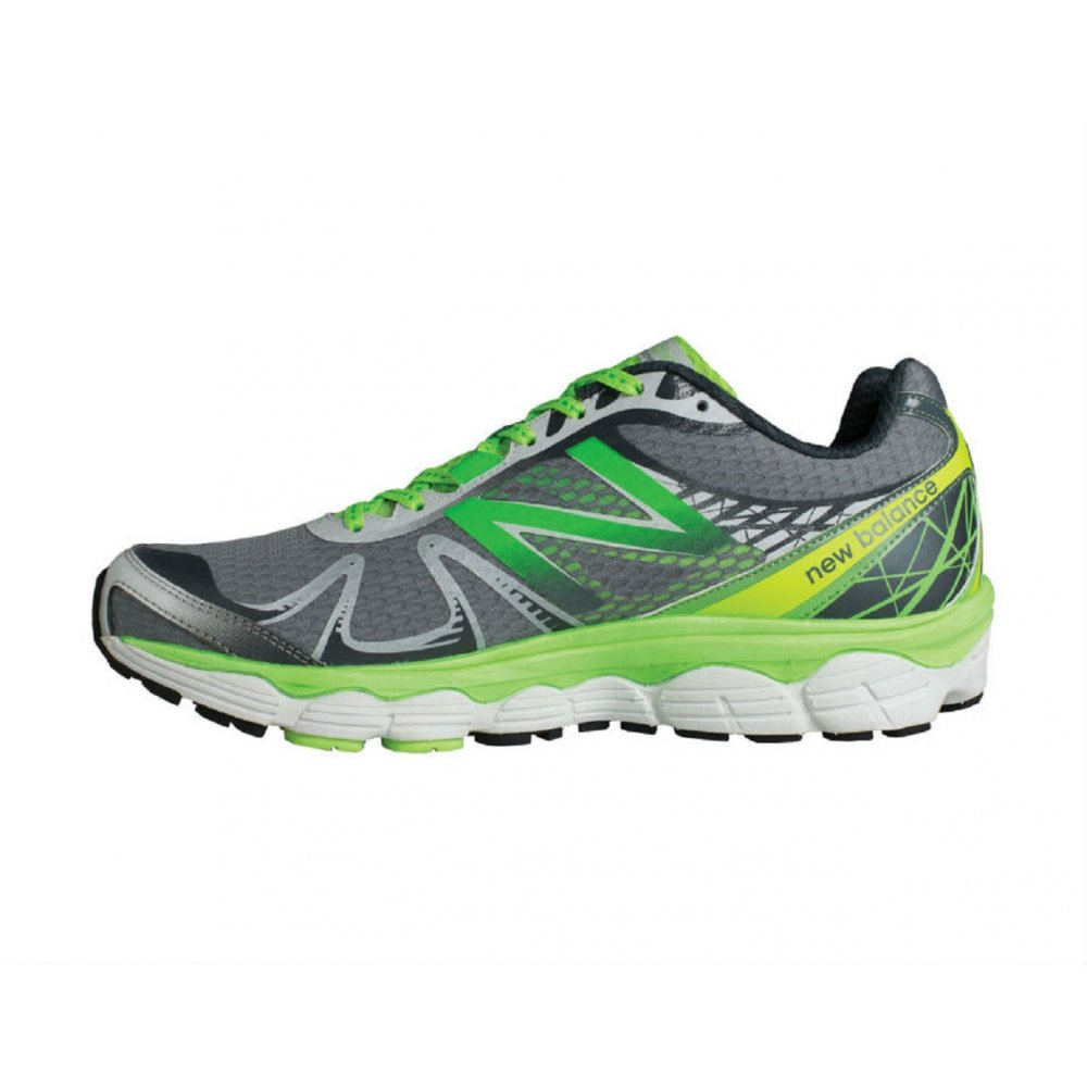 new balance 880. new balance 880 v4 road running shoes green/silver (2e width - wide)