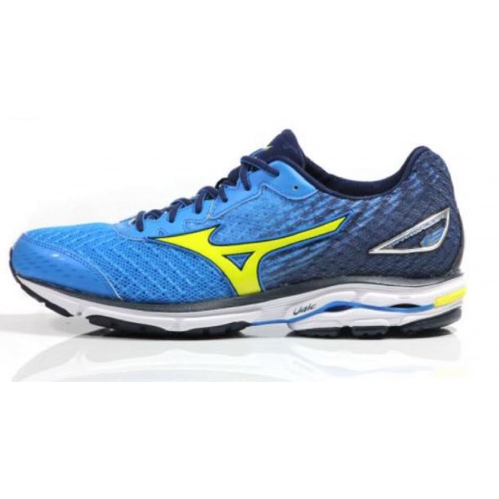 buy mizuno wave rider 19 for men in blue at northern runner. Black Bedroom Furniture Sets. Home Design Ideas