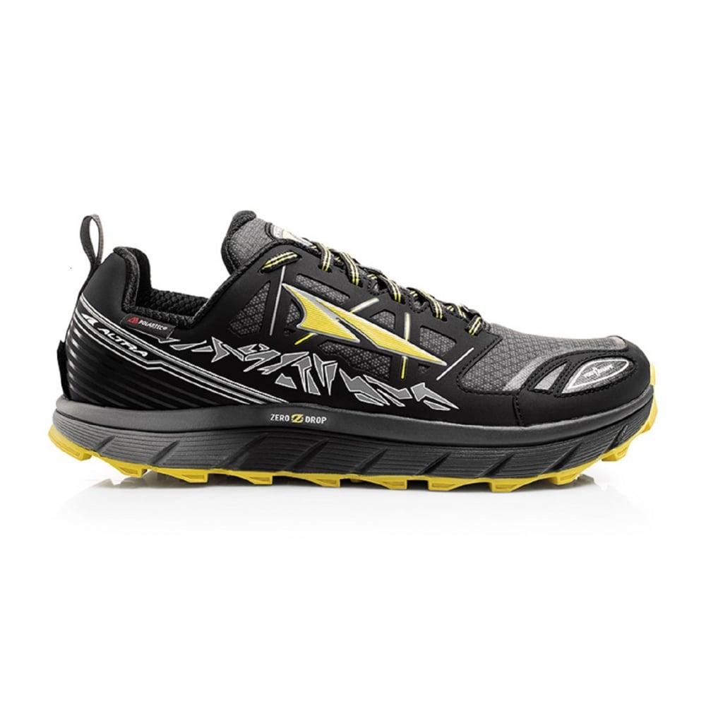 Altra Lone Peak 3.0 Neoshell Low Mens Trail Running Shoes Black/Yellow