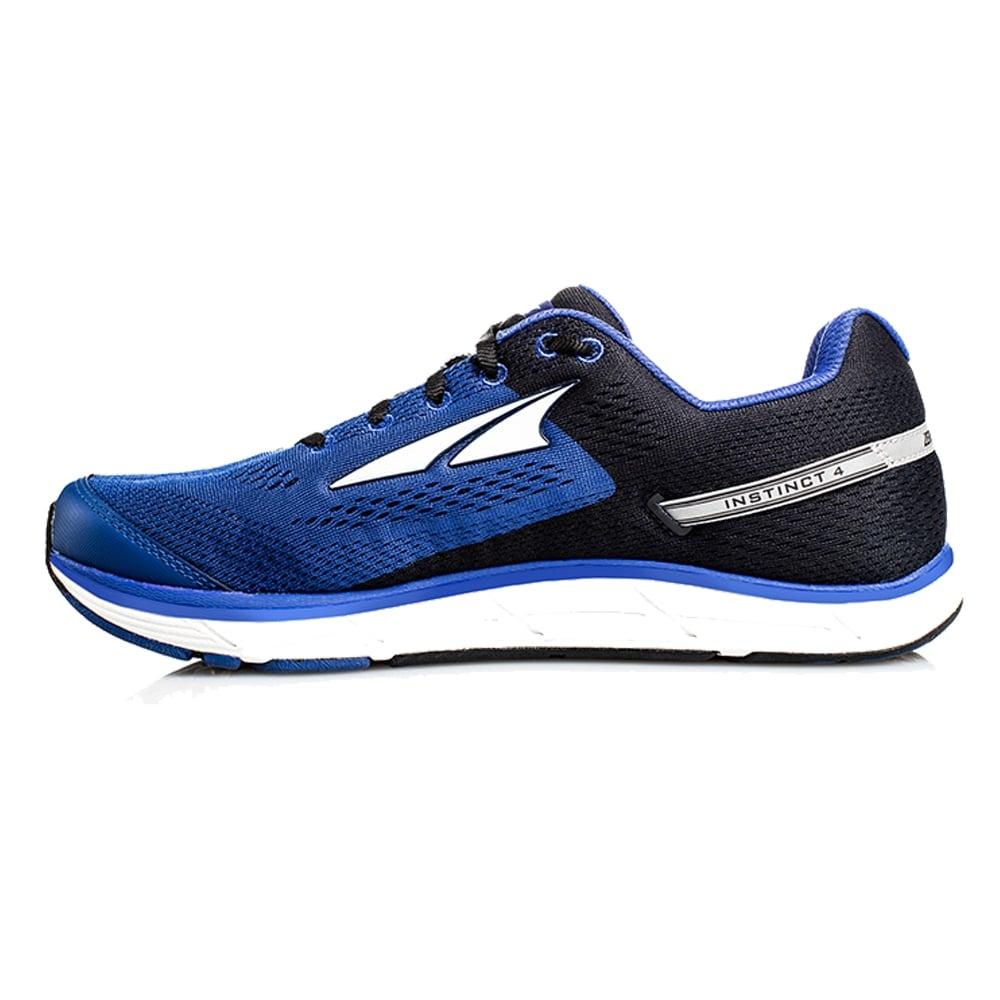 ... Altra Instinct 4.0 Blue/Black Mens Zero Drop Road Running Shoes ...
