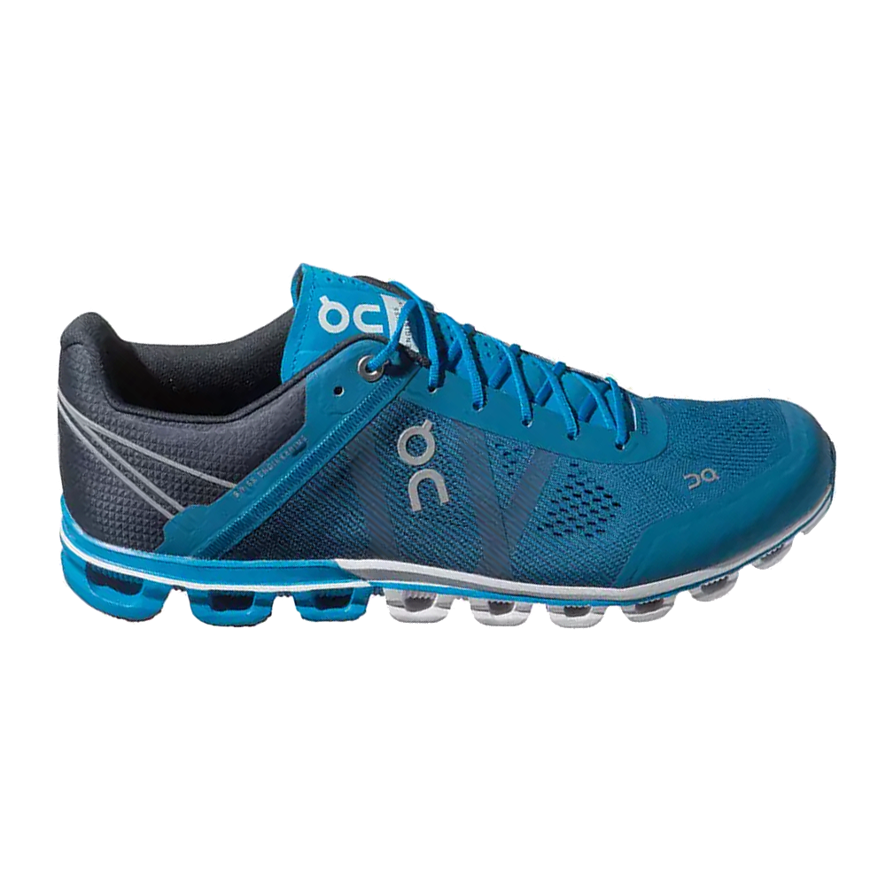 Cloudflow Mens Road Running Shoes River/Navy at ...