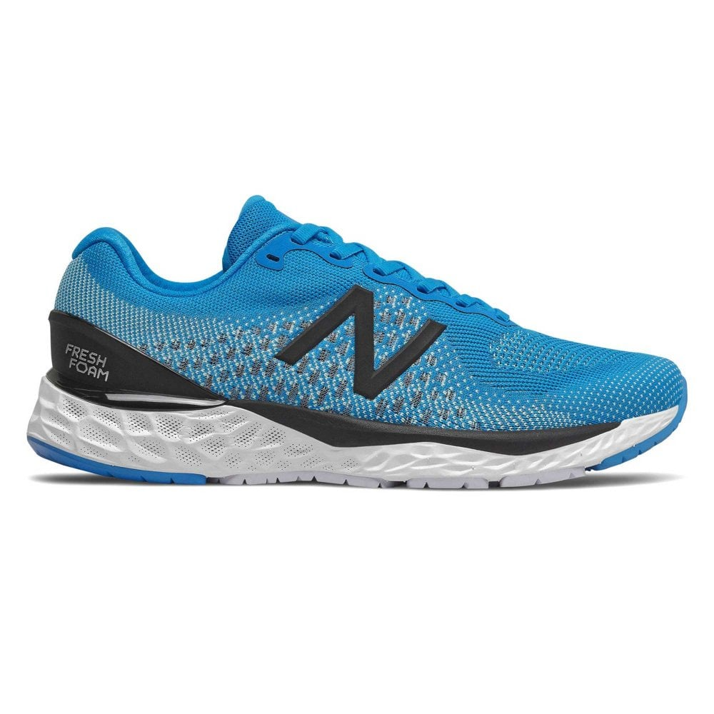 880v10 Mens 2e Width Wide Cushioned 10mm Drop Road Running Shoes Vision Blue With Neo Mint At Northernrunner Com