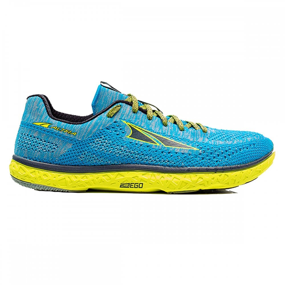 new arrival acbe4 dadbe Escalante Racer Womens LIGHTWEIGHT & RESPONSIVE Road Racing Shoes Light  Blue/Yellow