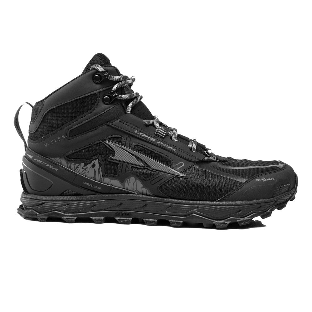 Mens Shoes Running 4 Zero Drop Lone MidbootWaterproof Trail Peak QBrxeWCdo