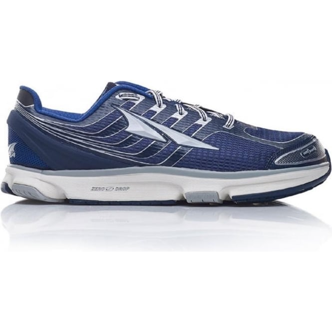 new style c279f a9af0 Provision 2.5 Navy/Silver Mens Zero Drop Road Running Shoe