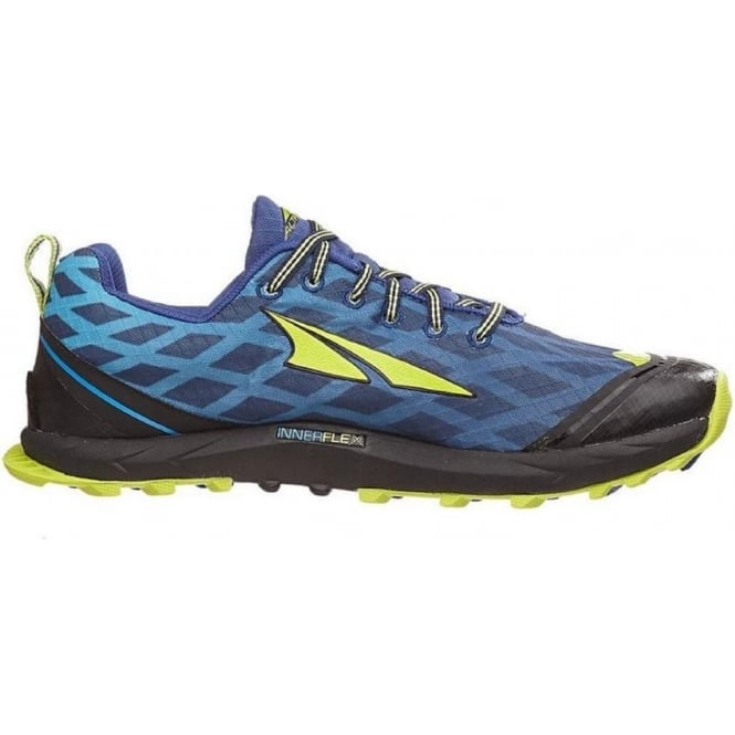 quality design 64d94 b22f1 Superior 2.0 Mens Zero Drop Trail Running Shoes Navy/Lime