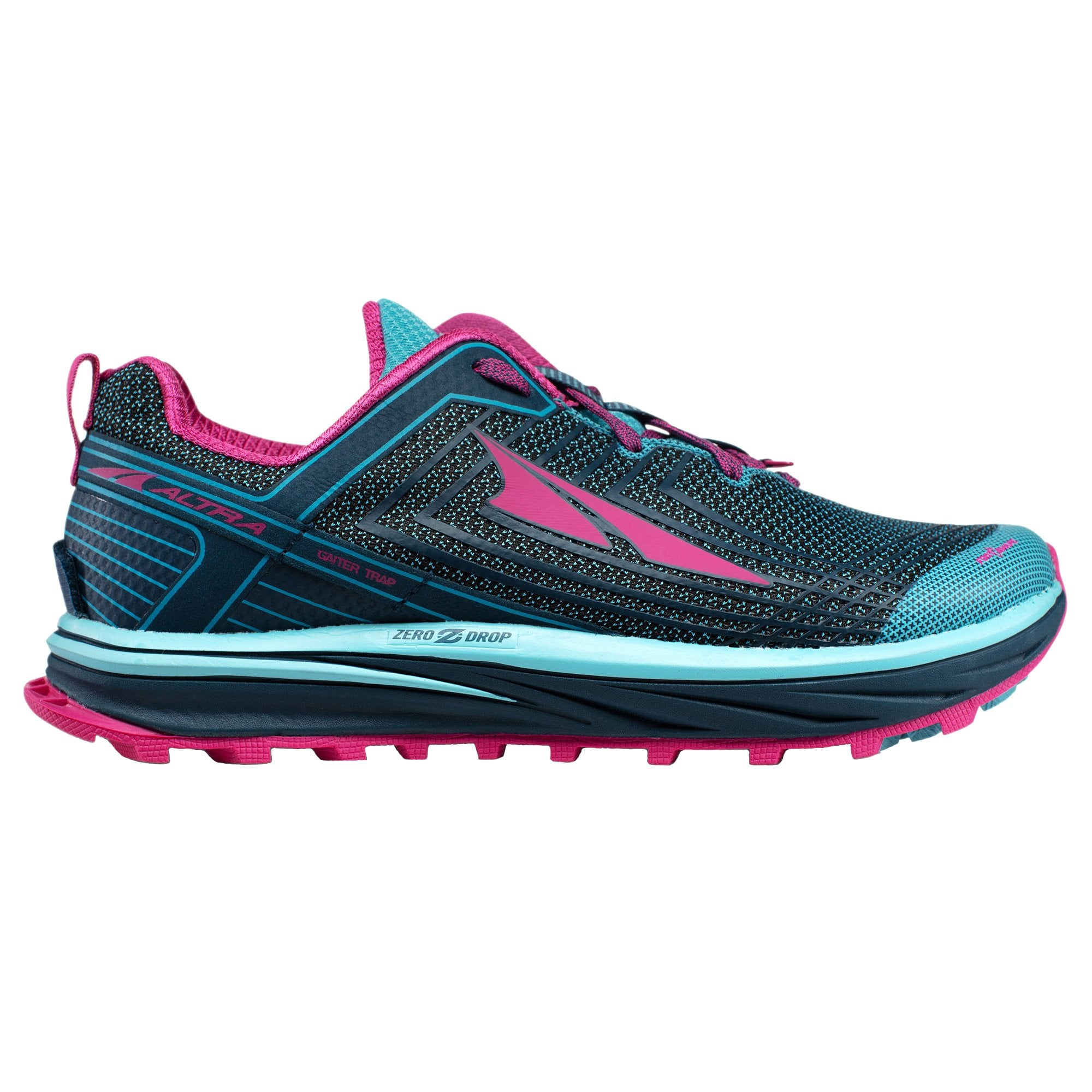 Timp 1 5 Womens Higher Cushioning Zero Drop Trail Running Shoes Blue Raspberry At Northernrunner Com