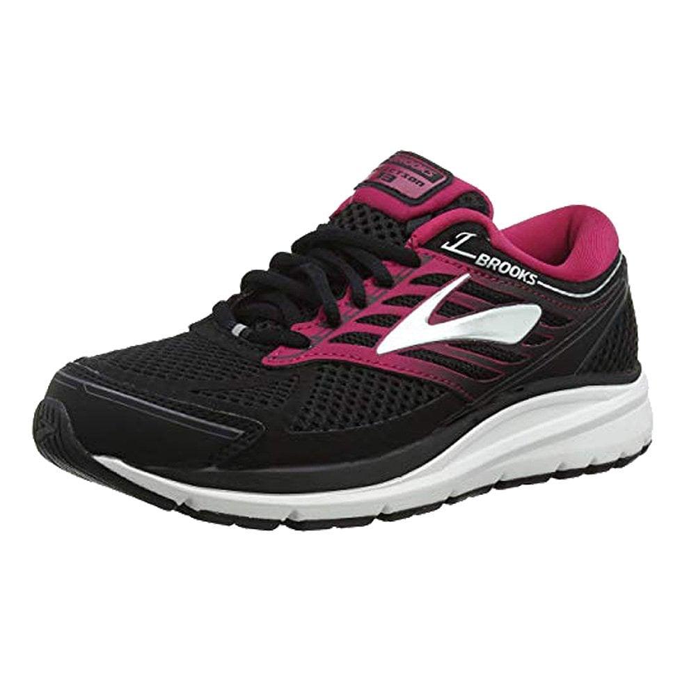 c1de7623e2c Addiction 13 Womens B STANDARD WIDTH Road Running Shoes Black Pink Grey