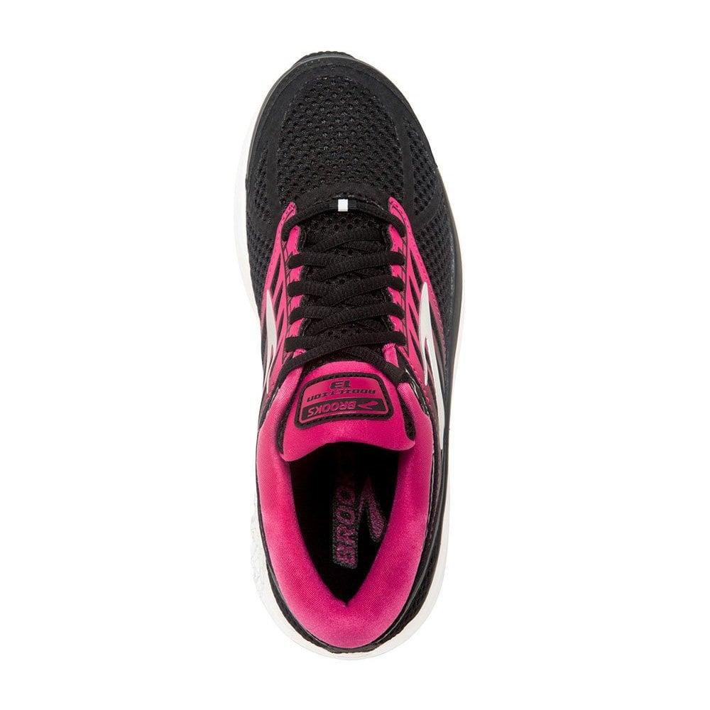 3e662f097cb Addiction 13 Womens B STANDARD WIDTH Road Running Shoes Black Pink Grey