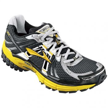 31d4cabb6d1ce Adrenaline GTS 12 Road Running Shoes Empire Yellow Pavement Black (D WIDTH -