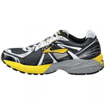 31d4cabb6d1ce Adrenaline GTS 12 Road Running Shoes Empire Yellow Pavement Black (D WIDTH -