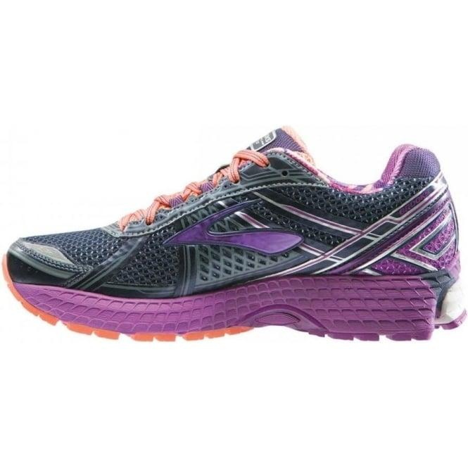 best website 3fd95 7a9f4 Brooks Adrenaline GTS 15 Grey/Purple D WIDTH - WIDE Womens