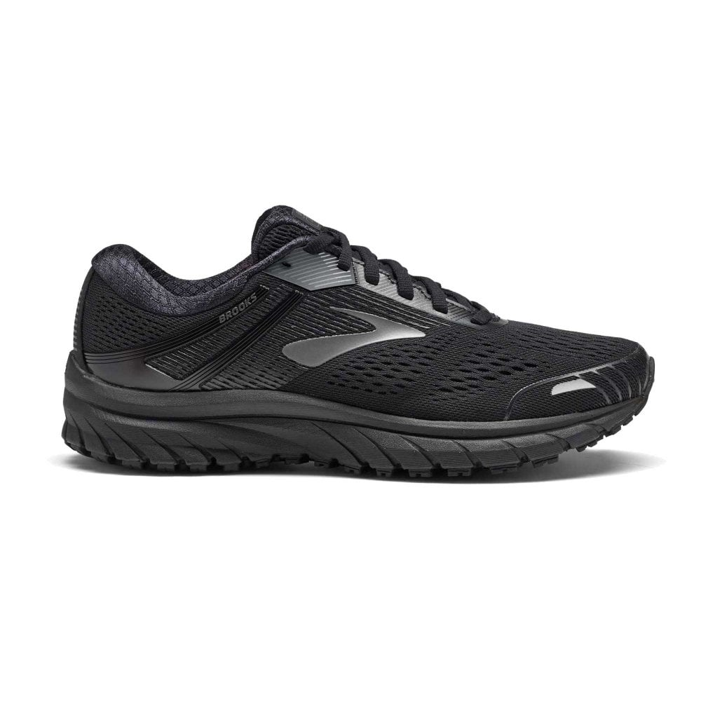 75fe1791c64c Adrenaline GTS 18 D WIDTH STANDARD FIT Mens Road Running Shoes Black ...