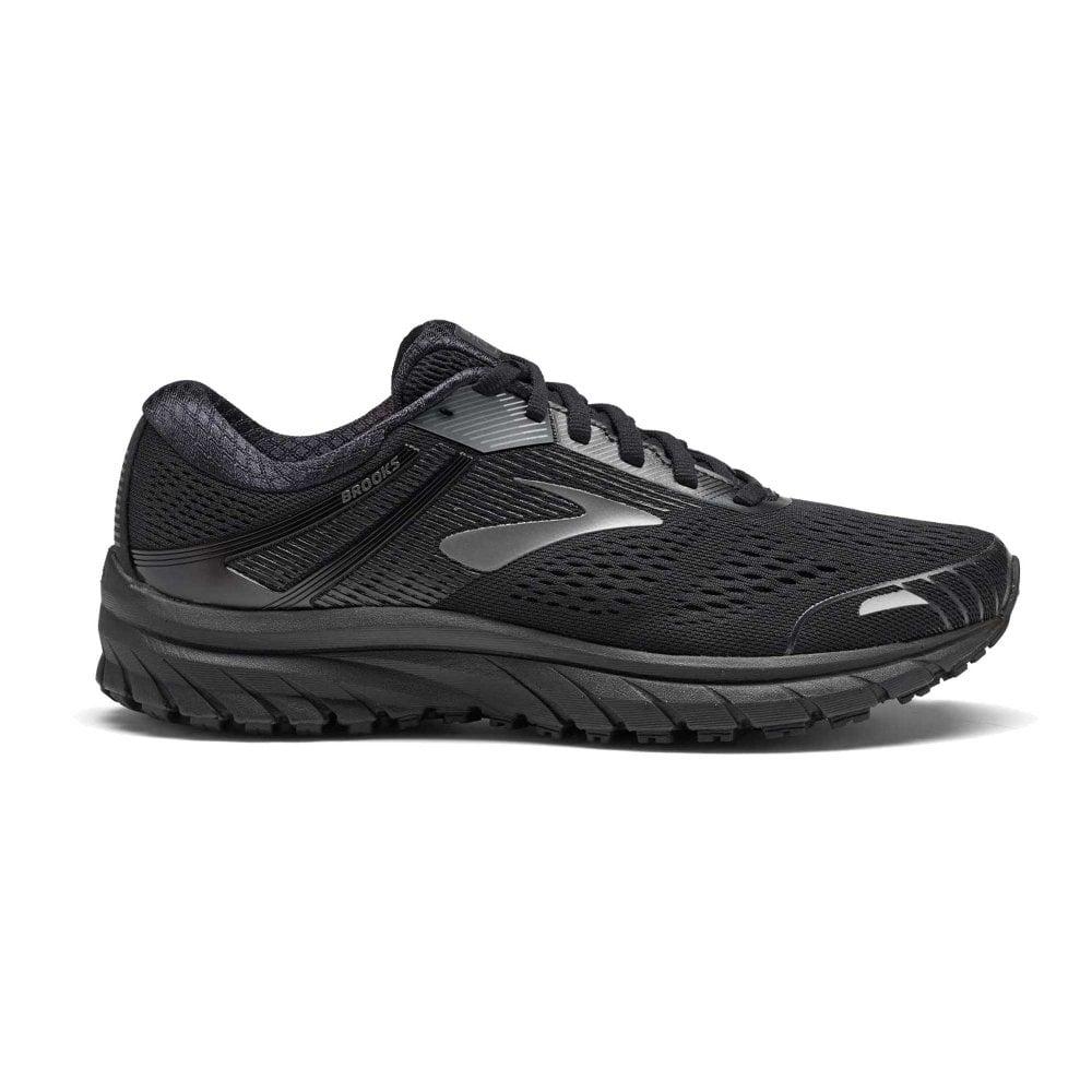 db225381d11 Adrenaline GTS 18 D WIDTH STANDARD FIT Mens Road Running Shoes Black ...