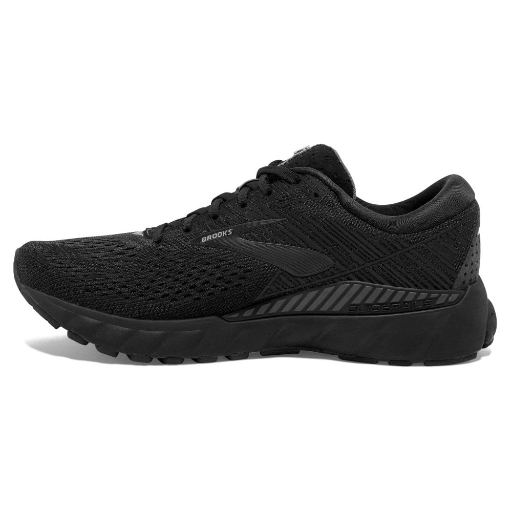 b2cbee2658e7c Adrenaline GTS 19 2E (WIDE) Mens HIGH CUSHIONING Road Running Shoes WITH SUPPORT  Black