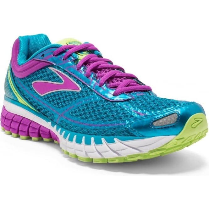 2197b8a4774cc The Brooks Aduro 4 in Blue and Purple for Women B Width at  Northernrunner.com
