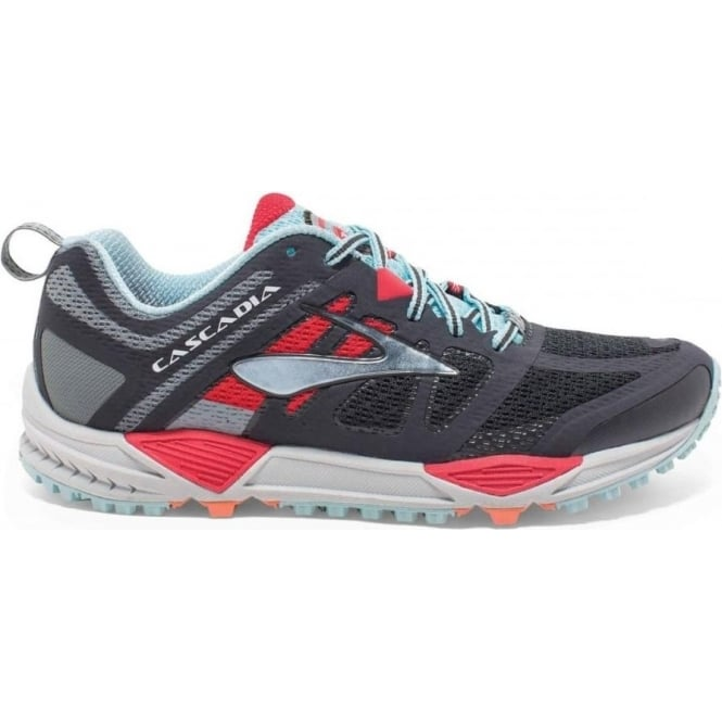 758756bef99 The Brooks Cascadia 11 in Grey and Blue B Width for Women at ...