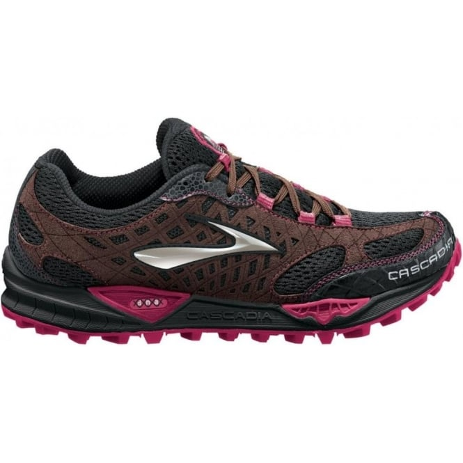 f49172a66ac Cascadia 7 Trail Running Shoes Black ShoppingBag Cerise Women s at ...