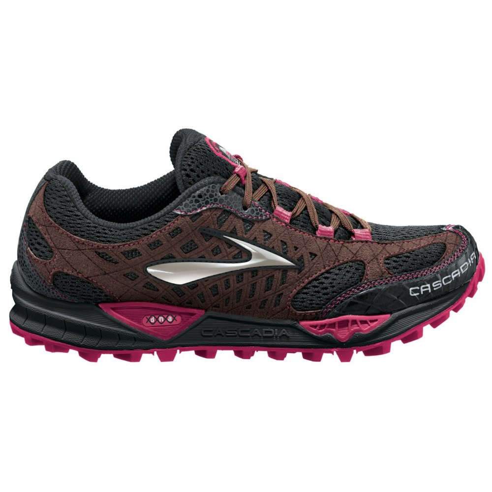 Cascadia 7 Trail Running Shoes Black
