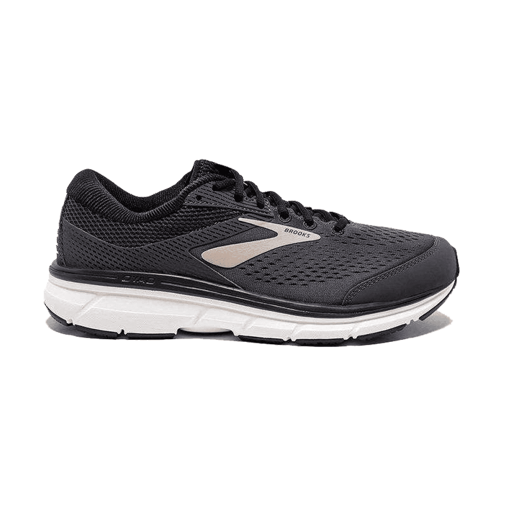 b5115ed4028 Dyad 10 Mens 2E WIDE FIT Lightweight Cushioned Road Running Shoes Black Gold