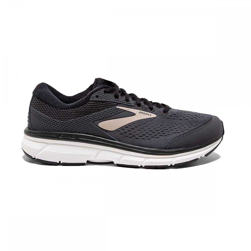 Dyad 10 Mens 4E EXTRA WIDE FIT Lightweight Cushioned Road Running Shoes  Black Gold 3143d89fa523