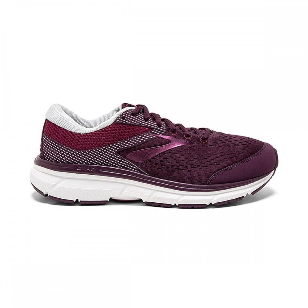 1b4774a569de62 Dyad 10 Womens 2E Width EXTRA WIDE Lightweight CUSHIONED Road Running Shoes  Purple