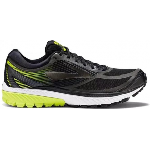 8cb8f36117f Ghost 10 GTX Mens D STANDARD WIDTH Road Running Shoes Black Ebony Lime  Popsicle