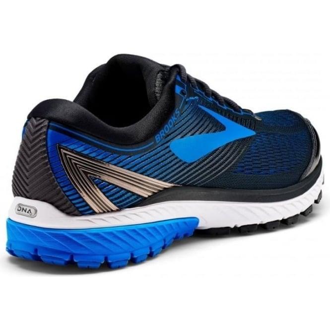 584c85c3276 Ghost 10 Mens 2E (WIDE WIDTH) Road Running Shoes Ebony Metallic Charcoal