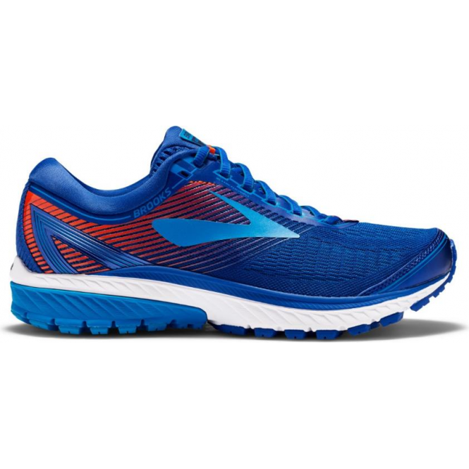 986cfd5c38726 Ghost 10 Mens D (STANDARD WIDTH) Road Running Shoes Mazarine Blue Methyl  Blue