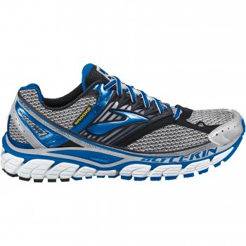 17a502f7f3aa2 Glycerin 10 Road Running Shoes Skydiver Yellow Blue White Silver Mens