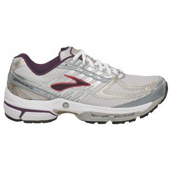 3385e5c7ccd Infiniti 2 Womens Road Running Shoes White Silver Bergundy at ...